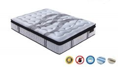 """""""Luxury"""" Latex Plush Mattress with 5 Zone Pocket Springs King Size"""