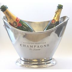 Aluminium Oval Champagne Party Tub 36cm