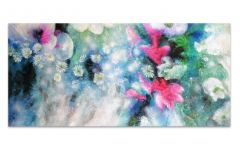 Fortunes of Spring Hand Painted Artwork Canvas 120x60cm