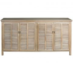 """Alton"" Hampton Style 4 Door 175cm Buffet in Elm"