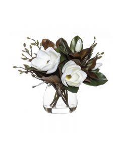 Magnolia Hampton Style Mix Garden Vase 47cm White