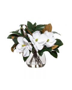 Magnolia Hampton Style Mix Garden Vase 51x48cm White
