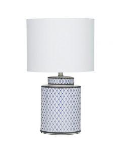 Leila Table Lamp 33x55cm Hampton Style Homeware