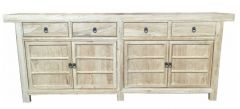 Shanghai Chinese Antique 4 Door 4 Drawer Sideboard Reproduction Recycled Elm