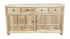 Shanghai Chinese Antique 2 Door 4 Drawer Sideboard Hall Console Reproduction Recycled Elm