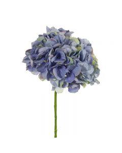 Hampton Style  Hydrangea without Leaf Dark Blue Colour 46cm