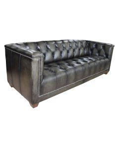 "FLOORSTOCK CLEARANCE SALE ""Regency"" Genuine Top Grain Leather 3 Seater Lounge, Superior Comfort (RRP $3999)"