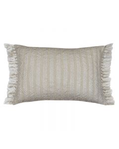 Wallis Hampton Style White/ Natural Cushion 40X60CM