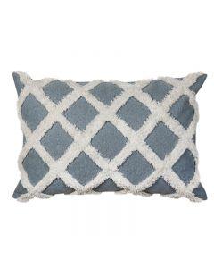 Avoca Check Hampton Style Light Blue Cushion 40X60cm