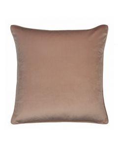 Augusta Hampton Style Velvet Pink Cushion 55cm