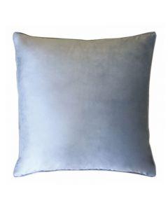 Augusta Hampton Style Velvet Blue Cushion 55cm
