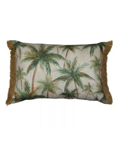Palms Hampton Style Neutral Cushion 40X60CM