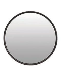 Linear Black Oak Hampton Style Mirror 80X80X5cm