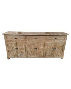 """""""Chateau"""" Parquetry Buffet Sideboard Elm, 200cm"""