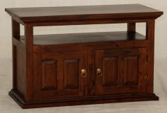 """Normandy"" Mahogany French Provincial Hardwood Timber TV Unit with 2 Doors"