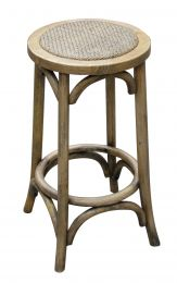 """Noosa"" Oak Hardwood Timber Kitchen Counter Bar Stool Natural Oak"