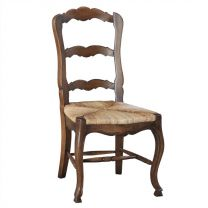 """""""Provincial"""" Timber Dining Chair Antique Oak 2 x FLOOR STOCK AVAILABLE"""