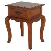 """""""Provence"""" French Provincial Timber Lamp Table Light Pecan"""