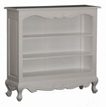 """""""Maison"""" French Provincial Style White Hardwood Timber Bookcase with Shelves"""