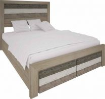 """Beachside""Hardwood Timber Queen Size Bed"