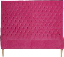 """Estate"" Velvet Bedhead in Pink - Available in 3 Sizes"