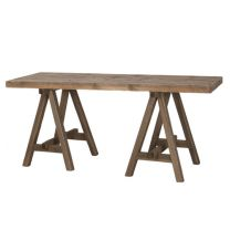 """Mangrove"" Rustic Wooden A Frame Desk"