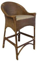 """Rangoon"" Hampton Style Loom Bar Stool Natural"