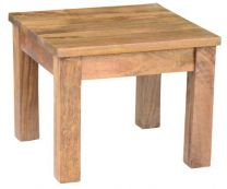 """Mirage"" Solid Hardwood Timber Lamp Table American Oak"