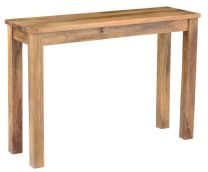 """""""Mirage"""" Solid Hardwood Timber Hall Table Console American Oak"""
