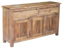 """Mirage"" Hardwood Timber Buffet American Oak, 150x40cm"
