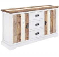 """Bayview"" Coastal Style Solid Hardwood Medium Buffet, 166x47x85cm"