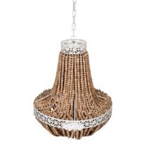 """""""Imperial"""" Hamptons Style Large Ball Chandelier"""