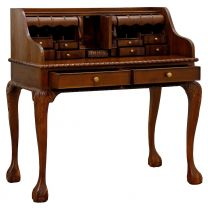 """Maison"" French Provincial Style Mahogany Hardwood Mahogany Timber Writing Desk, 105x60xH105cm"