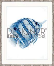 Exotic fish IV (Indigo Blue) - AVAILABLE IN 3 SIZES