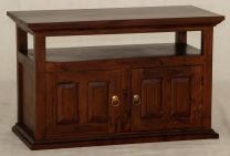 """""""Normandy"""" Mahogany French Provincial Hardwood Timber TV Unit with 2 Doors"""