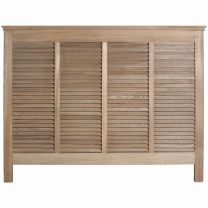"""Alton"" Bedhead in Elm - Available in Queen or King Size"
