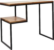 """Manhattan"" Solid Hardwood Natural Distress Study Desk, 100x52cm"